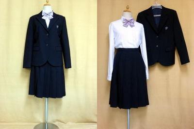 西山高等学校の制服