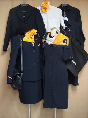 ルフトハンザドイツ航空の客室乗務員制服