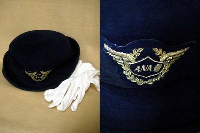 ANAキャビンアテンダントの制服