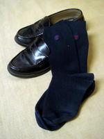 京都橘高等学校の通学靴・ソックス