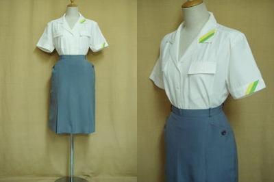 富士急行バスガイドの制服