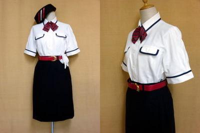 東都観光バスガイドの制服