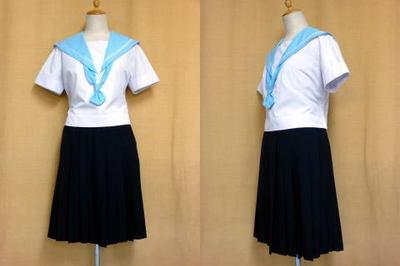 夕陽丘高等学校の制服